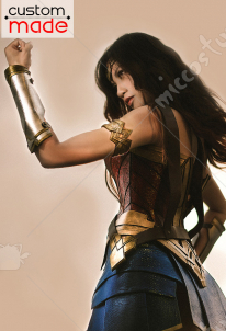 Superhero Deluxe Handmade Cosplay Costume including Shoes Inspired by Wonder Woman Diana Prince Custom Made