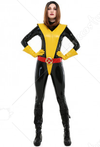 Katherine Kitty Pryde Cosplay Costume Bodysuit Jumpsuit Inspired by X-Men Shadowcat