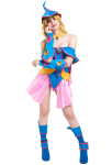 Yu-Gi-Oh Dark Magician Girl Cosplay Costume with Hat