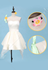 Your Lie In April Miyazono Kaori Cosplay Costume Performance Cosplay Dress