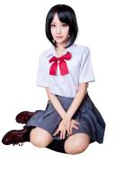 Anime Your Name Futaba Miyamizu Uniform Cosplay Girls Sailor Dress