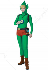 The Legend of Zelda Tingles Costume de Cosplay Link