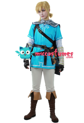 [Free US Economy Shipping] The Legend of Zelda: Breath of the Wild Link Cosplay Costume