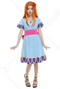 The Legend of Zelda Links Awakening Marin Dreamer Girl Cosplay Costume Dress