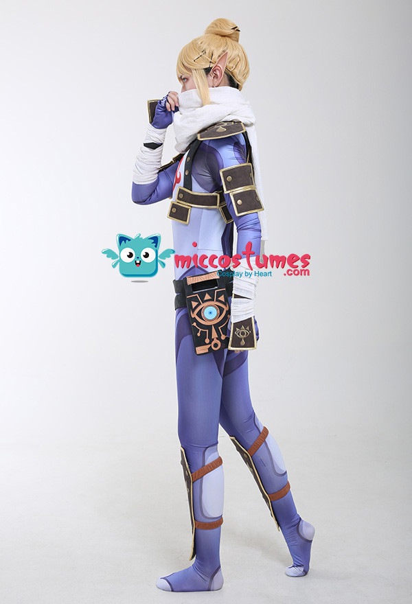 The Legend of Zelda Breath of the Wild Link Cosplay Kostüm Stealth Outfit