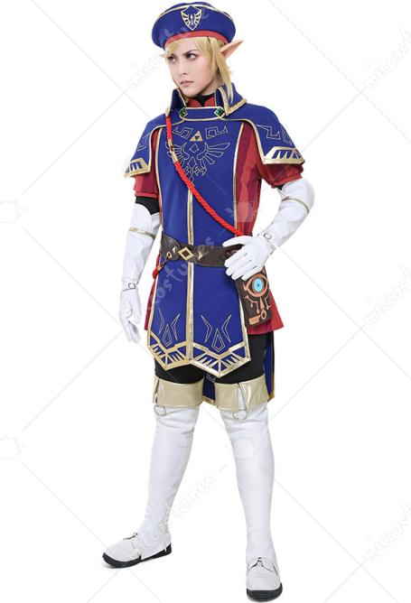 The Legend Of Zelda Breath Of The Wild Royal Guard Uniform Link Cosplay Costume Set