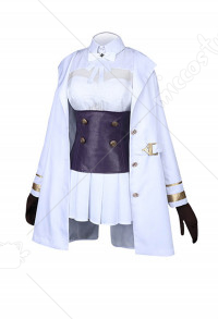 Azur Lane Azuma Cosplay Costume Uniform Komplett Set