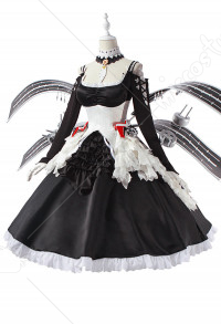 Azur Lane Costume de Cosplay Illustrious Robe de Maid Lolita