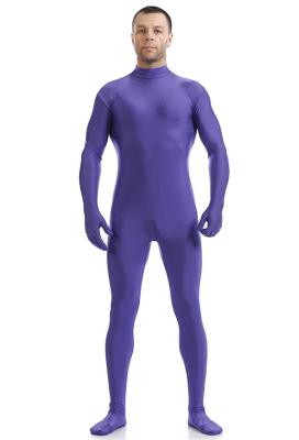 Halloween Cosplay Jumpsuit Performance Bodysuit Multi Color Zentai without Hood