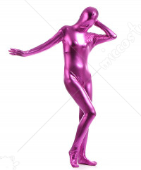 Halloween Cosplay Jumpsuit Performance Bodysuit Multi Color Glossy Zentai for Kids