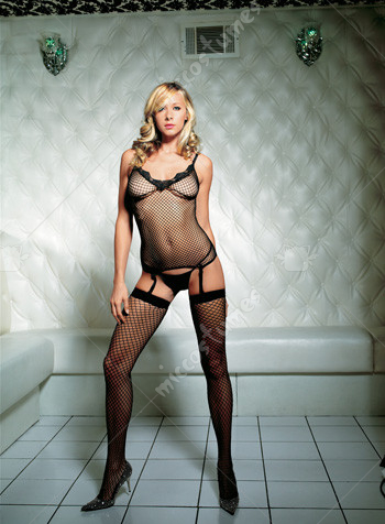 Cami Garter G-String And Thigh Hi Set