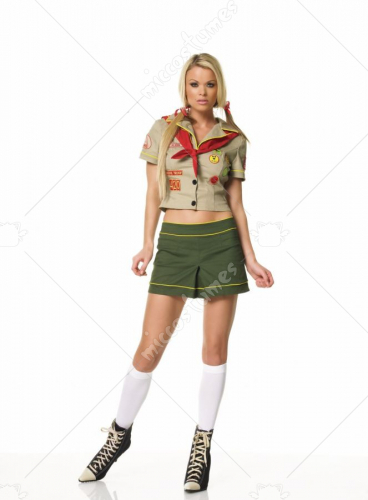Camper Girl Adult Costume