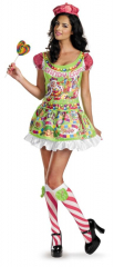 Candyland Sassy Deluxe Adult Costume