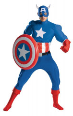 Captain America Rental Adult Costume
