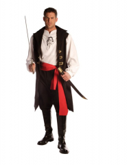 Captain Cutthroat Men One Size Adult Costume