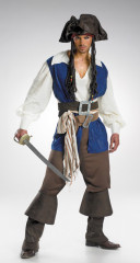 Captain Jack Sparrow Deluxe Teen Costume