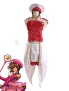 Card Captor Sakura Pink Sakura Kinomoto Cosplay Costume