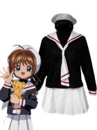 Card Captor Sakura White and Black Uniform