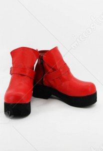 Cardcaptor Sakura Red School Uniform Shoes