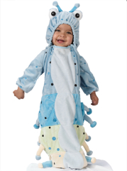 Caterpillar Blue infants Costume