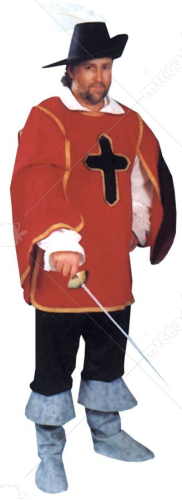 Cavalier Man Adult Costume