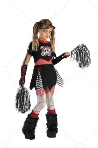 Cheerless Leader Child Costume