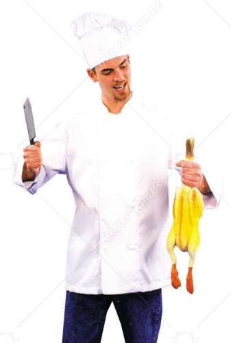 Chef Coat Adult Costume