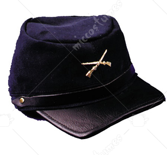 Civil War Cap Qual Blue