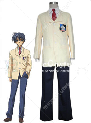 Clannad Boy School Uniform Cosplay Costume