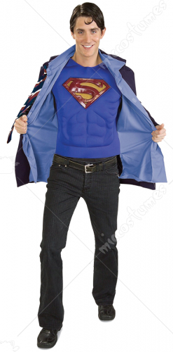 Clark Kent Superman Extra Large Adult Costume