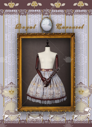 Classical Puppets Royal Carousel Lolita Skirt
