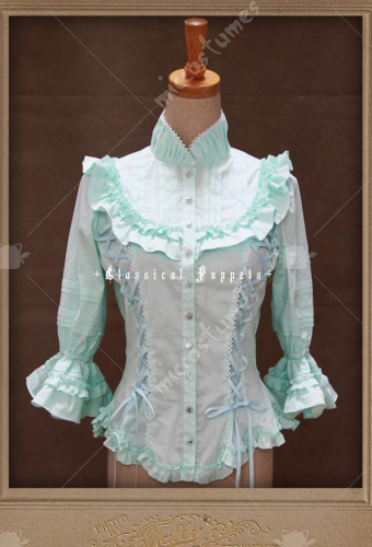 Classical Puppets The Fleeting Time Lolita Blouse