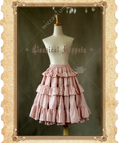 Classical Puppets Victoria Style Lolita Long Skirt