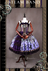 Classical Puppets Steam Band Lolita Sundress