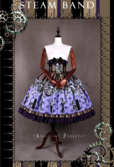 Classical Puppets Steam Band Lolita Skirt
