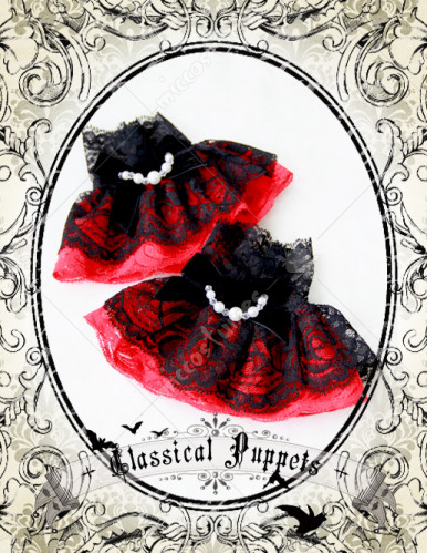 Classical Puppets Gothic Lolita Wrist Skirt