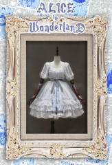 Classical Puppets Alice in Wonderland Chiffon Lolita Dress
