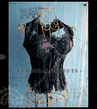 Classical Puppets Nightmare Queen Corset Lace Up Lolita Jacket