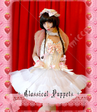 Classical Puppets Organdy Lined Layered Lolita Petticoat