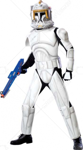 Clonetrooper Cody Deluxe Extra Large Adult Costume