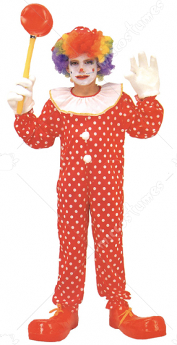 Clown Deluxe Child Costume
