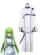 Code Geass C C White Cosplay Costume