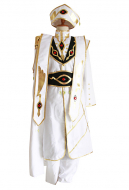Code Geass Lelouch vi Britannia Emperor Cosplay Costume