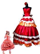 Code Geass Kallen Stadtfeld Red Cosplay Dress