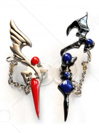 Code Geass Lelouch Lamperouge and Suzaku Kururugi Earring
