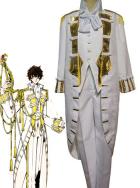 Code Geass R2 Suzaku Kururugi Cosplay Costume