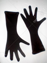 Code Geass Suzaku Kururugi Black Cosplay Gloves