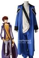 Code Geass Suzaku Kururugi Casual Cosplay Costume
