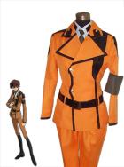 Code Geass Suzaku Kururugi Cosplay Military Uniform