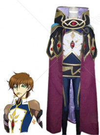 Code Geass Suzaku Kururugi Knight of Zero Cosplay Costume